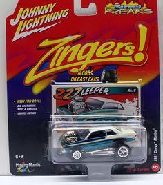1:64 2016 JOHNNY LIGHTNING STREET FREAKS SERIES 2B - 1981 CHEVY MALIBU #8 #JohnnyLightning #Chevrolet