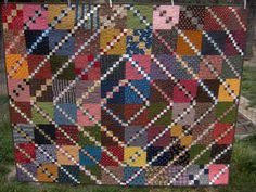 Scrap Squares Quilt by Lori from Humble Quilts