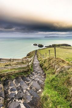 Stairs, Ballintoy, Northern Ireland