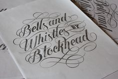 BELLS AND WHISTLES by ANDY LETHBRIDGE