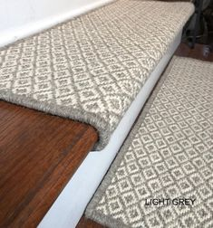 Carpet Treads For Wooden Stairs Carpet Decor, Diy Carpet, Wool Carpet, Modern Carpet, White Carpet, Green Carpet, Cheap Carpet, Carpet Tiles, Carpet Stair Treads