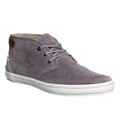 195ee9b77 Lacoste Chukka Boot Clavel Grey Suede His trainers Men s Sneakers