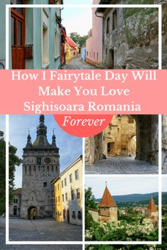Sighisoara, Romania is an absolute fairytale. The medieval tower and tiny streets with colorful cottages will have you swooning. If you're planning a trip to Romania, make sure SIghisoara is on your itinerary. This guide has everything you need to know. #Travel #Romania #Sighisoara #Europe #medieval #Transylvania