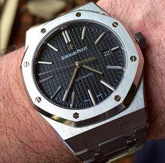 Audemars Piguet Royal Oak 15400 Modern Watches, Stylish Watches, Casual Watches, Luxury Watches, Vintage Watches, Cool Watches, Watches For Men, Men's Watches, Audemars Piguet Watches
