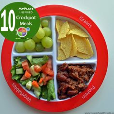 Top 10 Healthy MyPlate Inspired Crockpot Meals