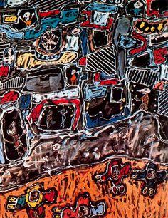 POUL WEBB ART BLOG - Jean Dubuffet - 1963