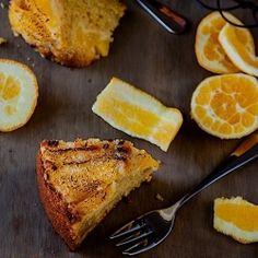 Vanilla and Orange Cake recipe