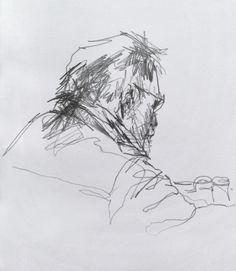 Coffee Shop Sketchbooks - Original artwork by davidhewittartist... #Art #Drawing…
