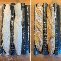magical baguette - Simple baguette bread … magical baguette – baking with passion - Hot Dog Recipes, Healthy Chicken Recipes, Burger Recipes, Easy Healthy Recipes, Baby Food Recipes, Baking Recipes, Tender Pork Chops, Boneless Pork Chops, Baked Pork Chops