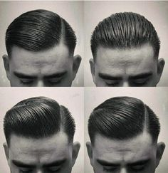 33 Best Gaya Rambut Pompadour Images Beard Haircut Men S Haircuts
