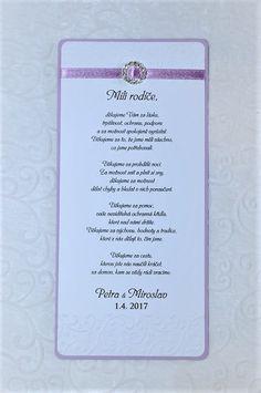 podekovani rodicum | FI-TO - web stránky, Svatební doplňky, svatební dekorace, luxusní svatební doplňky do barvy Wedding Planning, How To Plan, Party, Gifts, Inspiration, Wedding, Biblical Inspiration, Presents, Parties