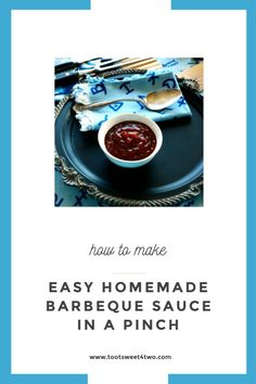 Need a sweet, sticky, delicious, easy homemade barbecue sauce recipe for your summer grilling? This one has a surprise ingredient – a shot of booze! #BBQ #BBQRecipes #CookingHacks #LifeHacks Easy Homemade Barbecue Sauce Recipe, Barbecue Sauce Recipes, Grilling Recipes, Emergency Preparation, Toot, How Sweet Eats, Lifehacks, Make It Simple, Sauces