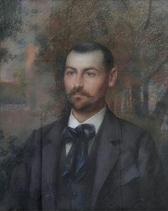 Delphin Enjolras  ·  Autoritratto  ·  1899 ·  Collezione privata