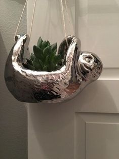 Sloth succulent planter