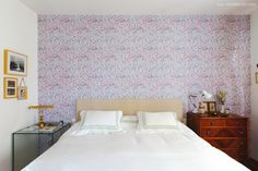 25-decoracao-quarto-casal-papel-de-parede-floral