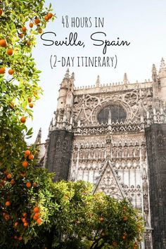 A quick itinerary and ideas for travel to Seville (Sevilla) in Andalucia, Spain. Where to go, what to do, where to stay and what to eat! | 48 Hours In Seville, Spain