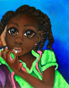 African Art 'Do You Still Love Me by SalkisReArt on Etsy