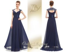 Rochie de seara Sweet Dream Navy Prom Dresses, Formal Dresses, Bleu Marine, Backless, Satin, Fashion, Dresses For Formal, Moda, Formal Gowns