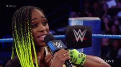 Due to injury, Naomi must relinquish her WWE SmackDown Live Women's Championship.