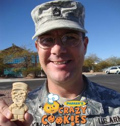 Edible Party Favors - Army solider coming home - Adorable gift - VERY happy customer