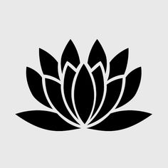 lotus stencil - Google Search More
