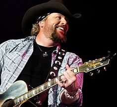 """Country music star Toby Keith, recently spoke on gay marriage and the military's now-repealed """"don't ask don't tell' policy.  Keith said refusing marriage licenses to gay couples accomplishes nothing and is a waste of time and money.  He also said if a soldier has the training and the passion, they should have the right to defend the country, no matter their sexual preference"""