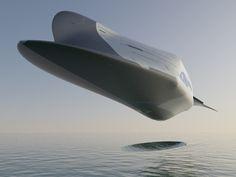 Al Brady Concept Art — Space Ferry