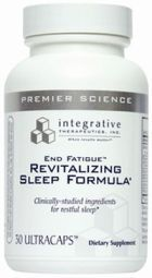 Integrative Therapeutics' End Fatigue Revitalizing Sleep Formula consists of active ingredients that were clinically tested for their ability to provide users with a restful sleep.  http://www.brainopinions.com/end-fatigue-revitalizing-sleep-formula/