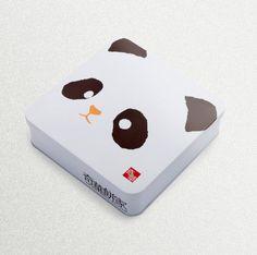"""Emballage d'effets spéciaux de biscuits. Design - """"Wah Kee Bakery"""", En Chine."""