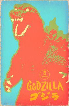 robotcosmonaut: Godzilla
