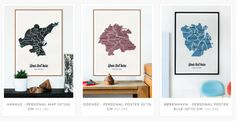 New customized city posters on the shop right now! www.madebyu.dk