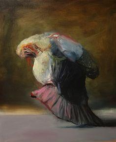 Mo – Joseba Eskubi - S/T - óleo sobre lienzo - 61 x 50cm #contemporary #art #exhibition