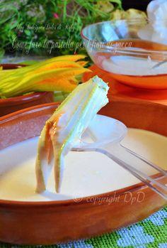 Come fare la pastella per i fiori di zucca