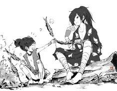 50 Ideas For Funny Girl Anime Fairy Tail Manga Art, Manga Anime, Samurai, Film D'animation, Character Design Animation, Anime Hair, All Anime, Girl Humor, Fairy Tail