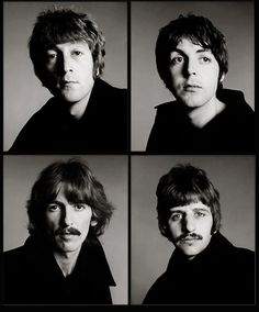 The Beatles, by Richard Avedon.