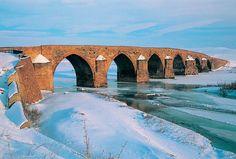 Çobandere Bridge - Erzurum in Turkey