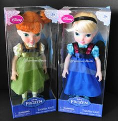 "frozen young anna | Details about DISNEY FROZEN ELSA & ANNA TODDLER DOLL 15"" YOUNG ..."