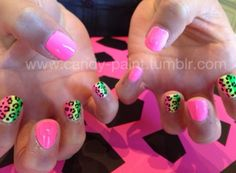 Pink & colorful cheetah