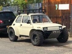 Fiat 126 off roader Fiat 126, Auto Jeep, Automobile, Fiat Cars, Bmw Autos, Expedition Vehicle, Unique Cars, Modified Cars, Small Cars