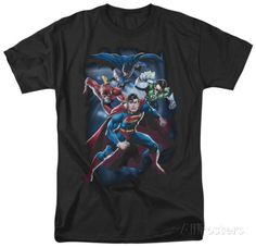 Justice League - Cosmic Crew T-shirts - at AllPosters.com.au