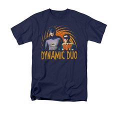 Batman Classic TV - Dynamic Adult Regular Fit T-Shirt