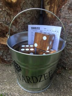 Best Wedding Lawn Games for an Unforgettable Backyard Wedding Yardzee Wedding Lawn Game by Rustic Station Designs Junebug WeddingsYardzee Wedding Lawn Game by Rustic Sta. Wedding Yard Games, Backyard Weddings, Outdoor Wedding Games, Outdoor Weddings, Board Game Wedding, Rustic Wedding Games, Wedding Reception Games, Wedding Ceremony, Wedding On A Budget