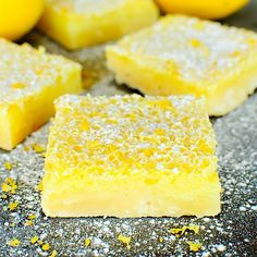 My recipe for The Best Ever Lemon Bars is super easy and perfect for lemon lovers! Cool lemon filling on top of a dreamy, buttery crust! These are so good!