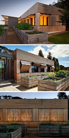 Architecture firm Mihaly Slocombe have designed the Kids Pod, an extension to a home that has been built for the grandchildren of the home's owner, located on a vineyard on the Mornington Peninsula of Victoria, Australia.