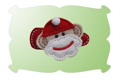 Eeep! Eeep! Sock Monkey Santa has arrived! Coordinate with our Sock Monkey Santa Applique (sold separately) for a Super Sweet Set!