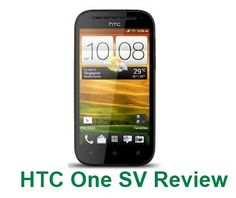 HTC One SV Review – Upcoming HTC Phone