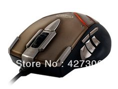 SteelSeries Mouse (CTM) For World Of Warcraft Mouse Catastrophe Free Shipping