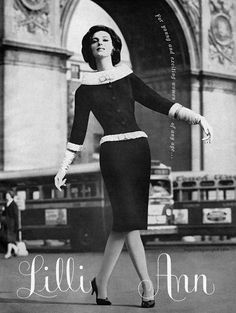 Lilli Ann 1961 ad - for young and exciting women of any age!