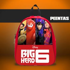 Disney Big Hero 6 -  Design variations School Bag