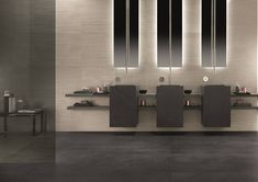 An authentic soul that reveals the natural beauty of Burlington stone from the North of England. The fossils, stippling, grains and vein patterns. Stone Bathroom, Wall And Floor Tiles, Home Collections, Architecture Details, Stoneware, Porcelain, Flooring, Contemporary, Interior Design